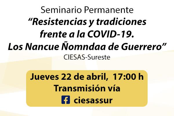 Banner seminario resistencias y tradiciones