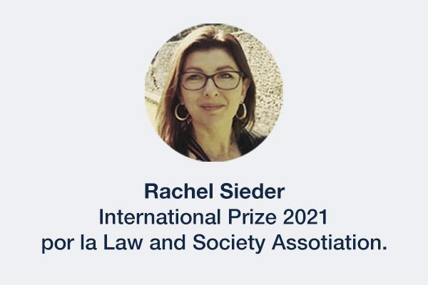 Banner Premio Rachel Sieder