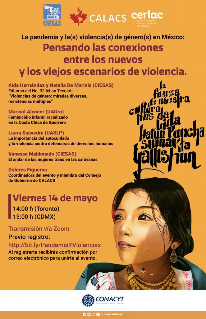 Cartel La pandemia y las violencias de género