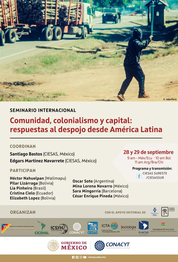 Seminario Comunidad, colonialismo y capital
